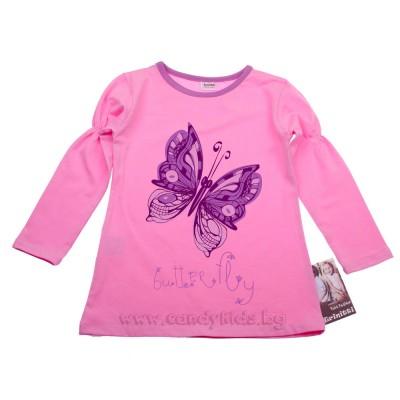 Блуза Пеперуда розова