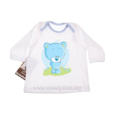 Сладка бебешка блузка за момченце