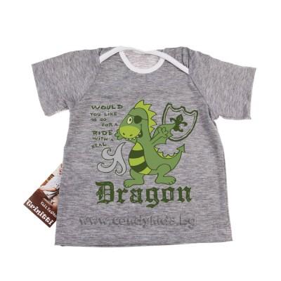 Бебешка тениска за момченце