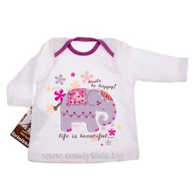 Много сладка бебешка блузка за момиченце