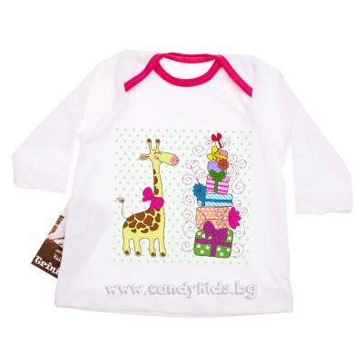 Много сладка блузка за бебе момиченце