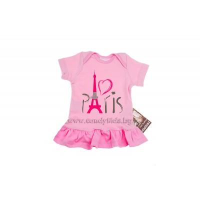 Бебешка туника Париж