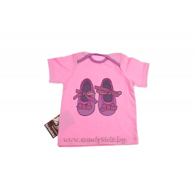 Бебешка тениска за момиченце