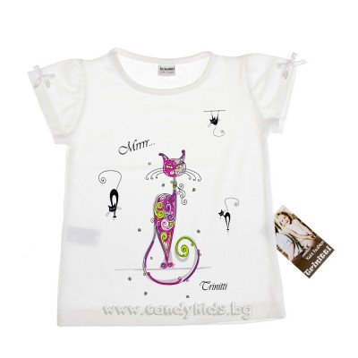 Сладка тениска  за момиченце