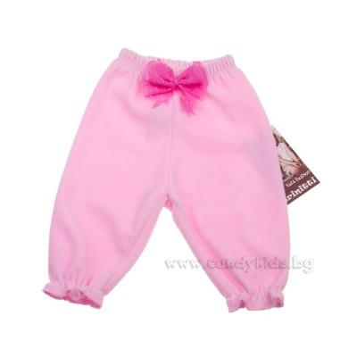 Бебешки панталонки от плюш