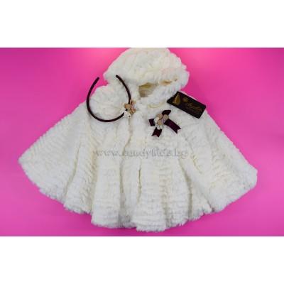 Модерен комплект за малка дама тъмно розово