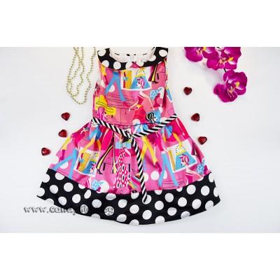 Ефирна бонбонена рокля