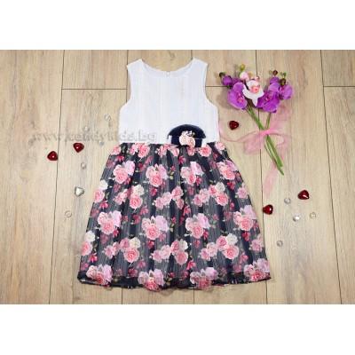 Лятна рокличка Цветя