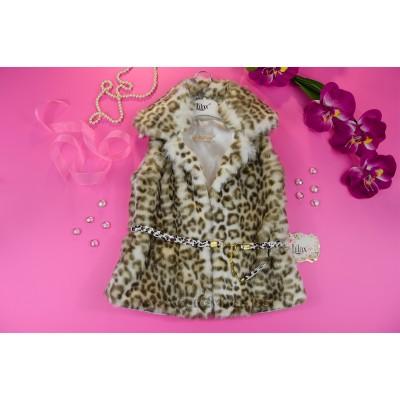 Модерен леопардов елек
